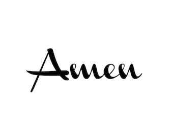 Amen Print