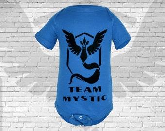 Pokemon GO, Team Mystic Gamer Baby Bodysuit