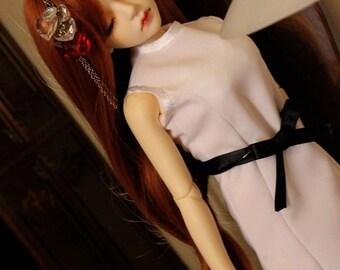 BJD tube dress YoSD MSD SD 1/3 1/4 1/6 ball jointed doll