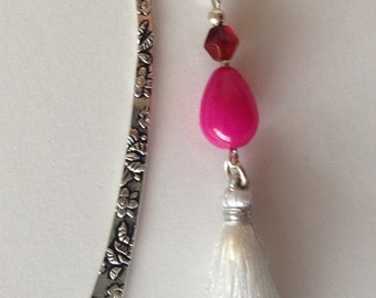 Pink and Red bookmark