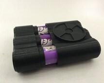 Custom Vape Battery Case for 3 x 18650 and smaller Lithium Batteries