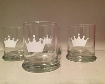 Custom Made Vinyl Whiskey Glasses