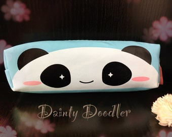 Cute Kawaii Panda Pencil Case / Office / School / Stationery storage / Stationery supplies / Cosmetic case / Make up bag / Gift