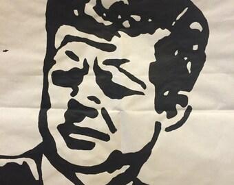 John F Kennedy Pop Art