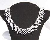 Bib type Beaded Necklace