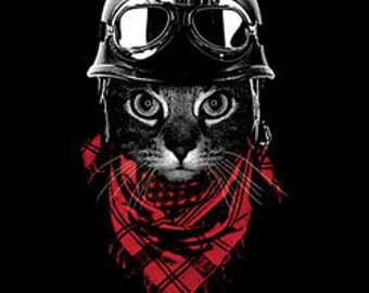 Adventurer Cat T - Shirt,Shirt,Tee,T, Pet Shirt,Cat,Animal Clothing