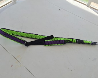 Adjustable single/double point paracord sling