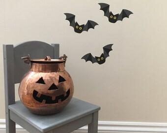 Bat wall stickers - Bat decals - Bats - Bat Art - Superhero Bat - Boys Room - Bat - Halloween Bat - Bat Wall Art - Bat Decoration - Decals
