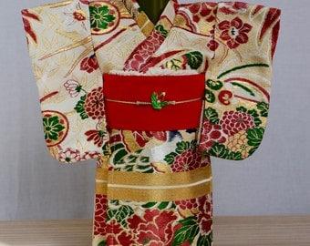 Kimono Wine Bottle Cover