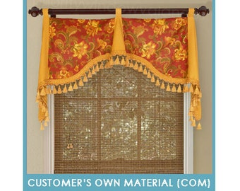 """Customer's Own Material (COM) - Emily Valance, 35 to 54"""" Wide"""