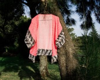 AYA _ Kimono Damasco | Free Shipping | Handmade