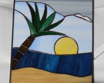 Hand Crafted Tropical Suncatcher