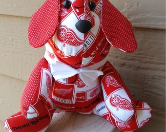 Detroit Redwings Hockey Dog