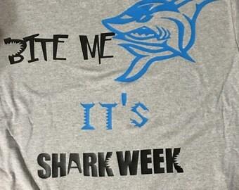 Bite Me Shark Week Shirt