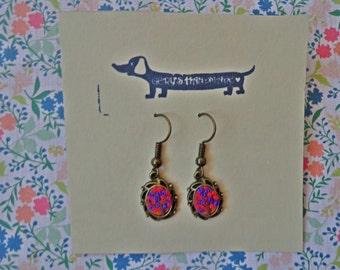 Cherry Blossom Three earrings