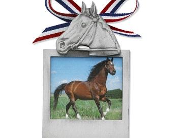Equestrian Frame Ornament