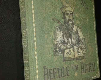 The tales of Beedle the bard - facsimile, reproduction ENGLISH VERSION