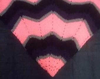 Crochet 12 point star blanket