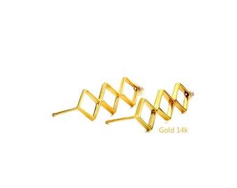 Beehives Earrings