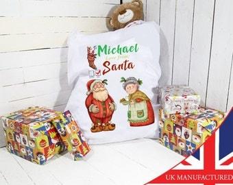 Giant Christmas Sack | Christmas Sack | Personalized | Personalised Christmas Sack |Santa Sacks | Santa Sacks - Personalized Santa Bag