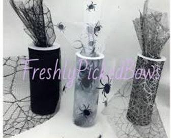 Halloween Spider Web Tulle