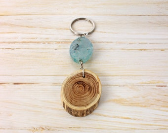 Nature wood key holder
