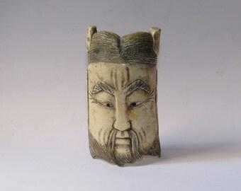 Chinese bone mask