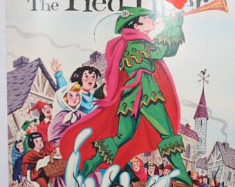Vintage Coloring Book - Pied Piper of Hamelin Coloring Book - Color By Number