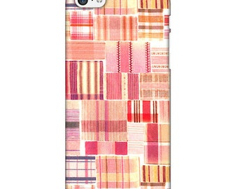"""Shell for iPhone """"Liberty Tana Lawn Mauvey B"""""""