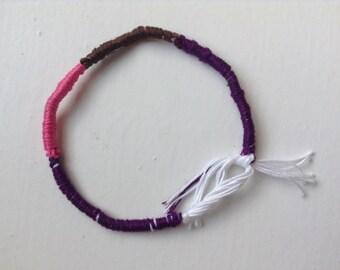 The Color block bracelet