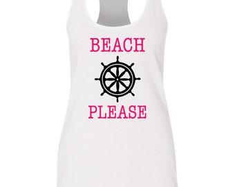 Beach Please Tank Top, Summer Tank, Beach Tank