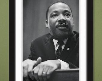 Famous Figures – MLK Jr. v2 (12x18 Heavyweight Gloss Print)