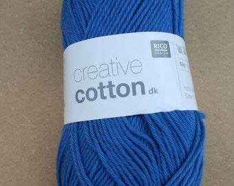 Rico Creative Cotton DK Royal Blue 012