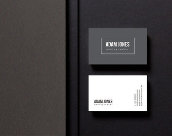 Easy-to-edit business card template | creative design | modern