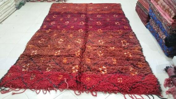 Belle marocaine beni mguild tapis berbère alfombras