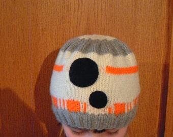 Children's Star Wars BB8 hat - Knitting pattern