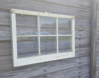 30x20 old antique shabby vintage window sash