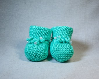 Baby Booties, Crochet Baby Booties, Baby Girl / Baby Boy