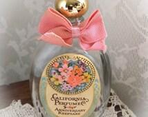 Avon California Perfume Co. Anniversary Keepsake Vintage Perfume Bottle 1975