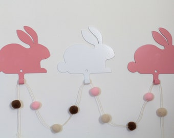 rabbit hanger perfect for nursery kids room