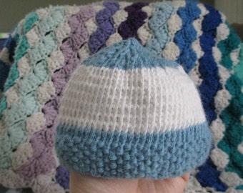 Baby Boy Preemie Hat
