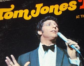 Tom Jones vinyl record album, Tom Jones Live! vintage vinyl record