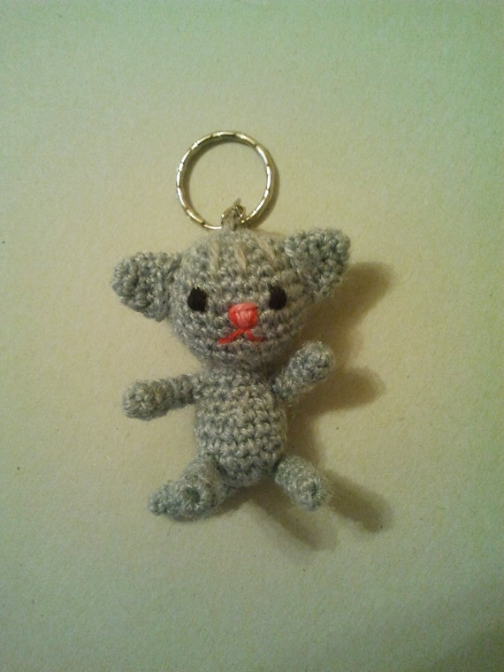 Amigurumi Magische Ring : Amigurumi Cat Stuffed Plush Keychain Cat amigurumi key