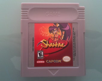 Shantae For Nintendo Game boy, gbc, gba, gba sp