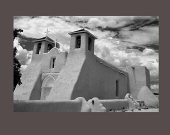 Taos New Mexico Church. San francisco De Asis Mission Church