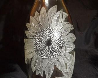 """Small """"Sunflower"""" vase"""