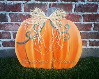 Pumpkin Door Hanger