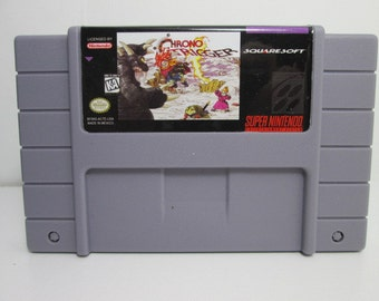 Chrono Trigger SAVES fan made reproduction SNES Super Nintendo