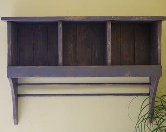 Large Country Cubby Shelf