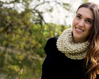 THE PARKER . Chunky knit infinity scarf